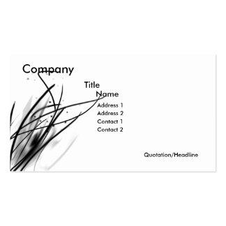 String Business Set Business Card