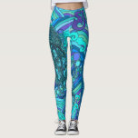 "String Cheese Incident Jellyfish Jelly Fish SCI Leggings<br><div class=""desc"">Celebrate SCI&#39;s new album with some funky fresh and fabulously fly new gear!</div>"
