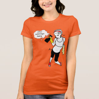 string cleaning personal message T-Shirt