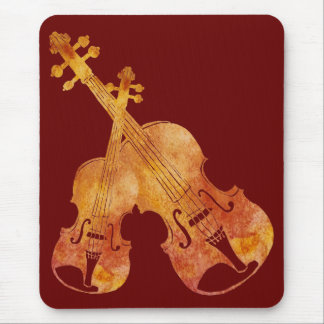 String Duet Mouse Pad