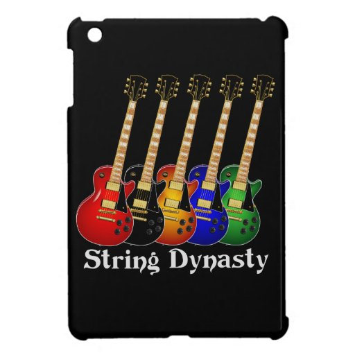 String Dynasty Electric Guitar Cover For The iPad Mini