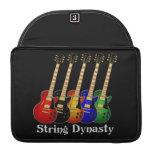 String Dynasty Electric Guitar MacBook Pro Sleeve