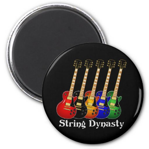 String Dynasty Electric Guitar Magnets