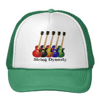 String Dynasty Electric Guitar Trucker Hat