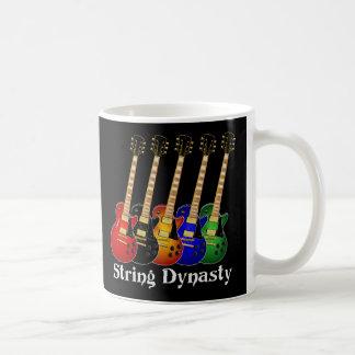 String Dynasty Electric Guitars Coffee Mug