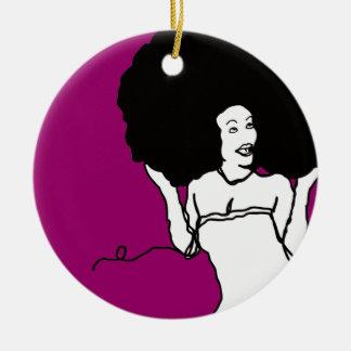 string fro ceramic ornament