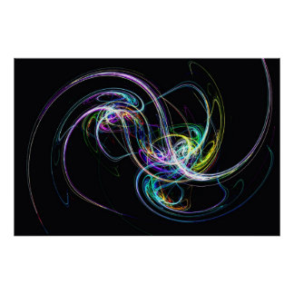 String Galaxy Poster