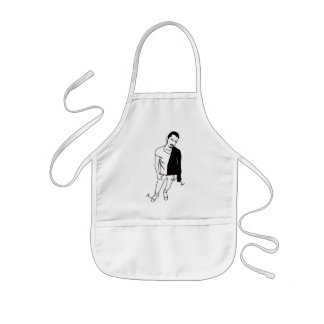 string grease kids' apron