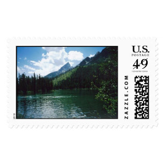String Lake- Yellowstone Postage Stamps