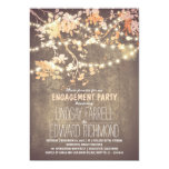engagement party invitations, rustic engagement