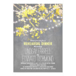 String lights cute and fancy rehearsal dinner card
