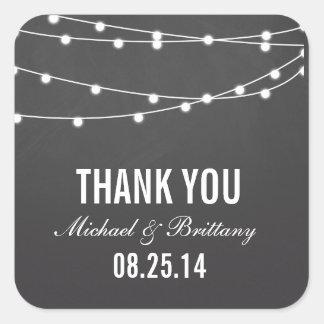 String Lights | Wedding Stickers