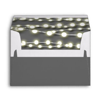 String lights white garden glow envelope