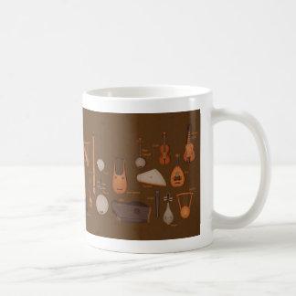 String Musical Instruments Coffee Mug