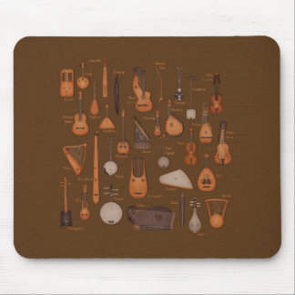 String Musical Instruments Mouse Pad