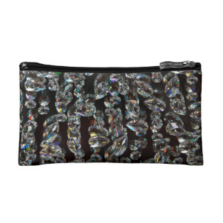 """""""String of Crystals"""" Cosmetic Bag"""
