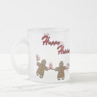 String of Gingerbreadmen Coffee Mugs