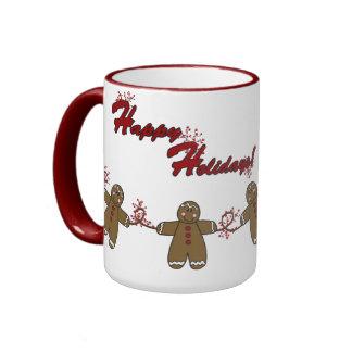 String of Gingerbreadmen Mug
