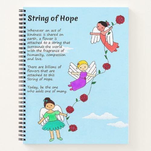 String of Hope Notebook