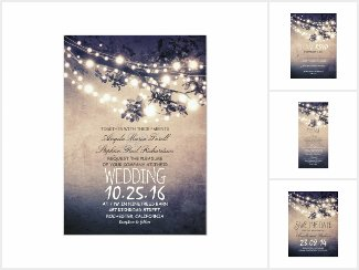 Burlap String Lights Wedding Collection