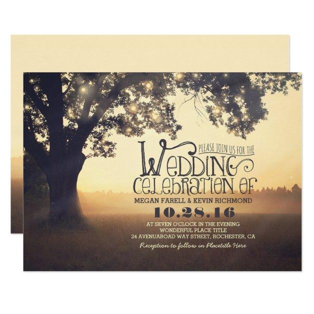 outdoor wedding invitations & announcements | zazzle,