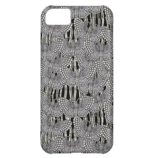 String of Pearls & Butterflies iPhone 5C Cases