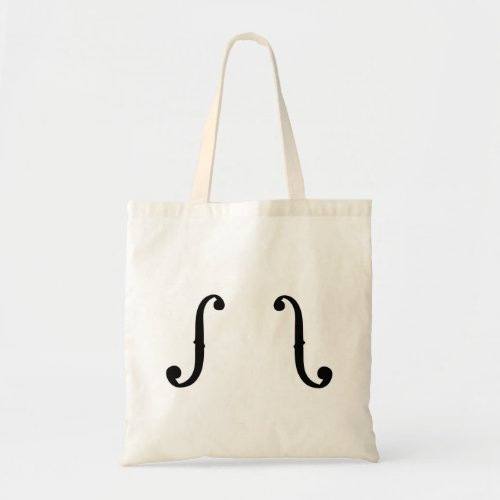 String player f-hole tote