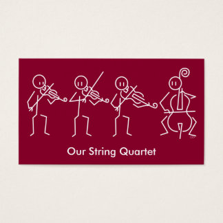 String Quartet Business Card