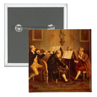 String Quartet Pinback Button
