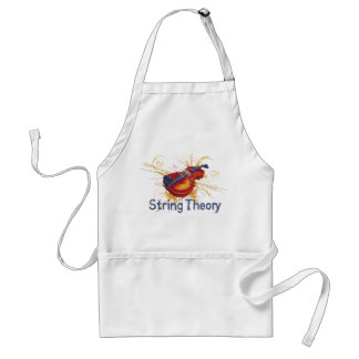 String Theory Adult Apron