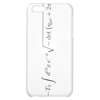 string theory Born-Infeld action Cover For iPhone 5C