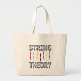 string theory canvas bag