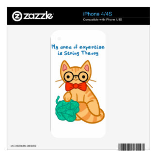 String Theory Cat Decals For The iPhone 4