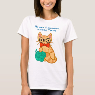 String Theory Cat T-Shirt