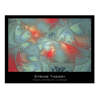 String Theory Fractal Artist Card