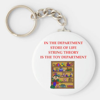 STRING theory gifts Key Chain