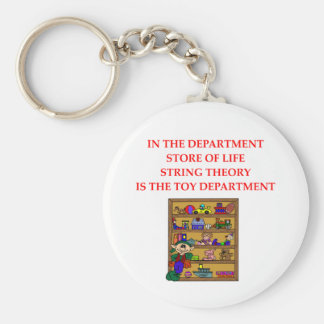 STRING theory gifts Keychain