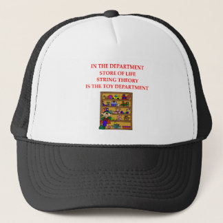 STRING theory gifts Trucker Hat