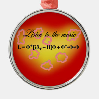 String Theory Metal Ornament