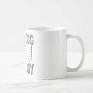 string theory classic white coffee mug