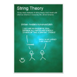 String Theory - Post Card Custom Announcement