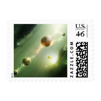 String Theory Postage Stamp