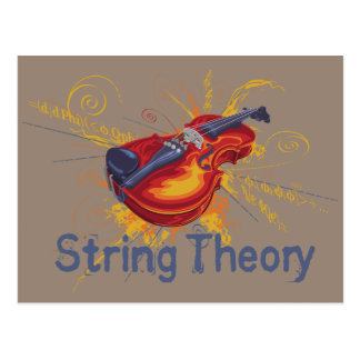 String Theory Postcard