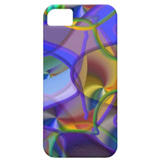 String Theory Shimmering Abstract iPhone 5 Cases