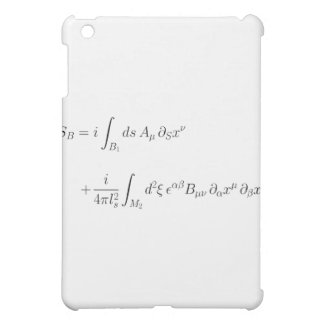 string theory, world-sheet coupling iPad mini cover