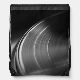 StringBag: Disco de vinilo y placa giratoria Mochilas