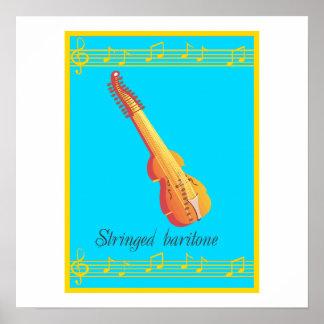 stringed baritone poster