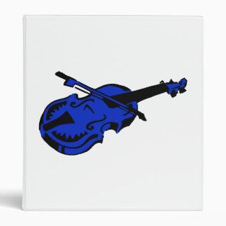 Stringed black blue instrument violin bow image.pn 3 ring binder