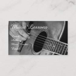 Stringed Instrument Business Card