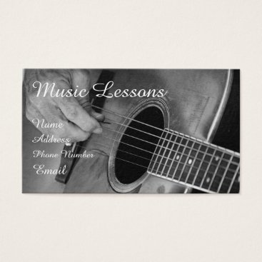 Professional Business Stringed Instrument Business Card